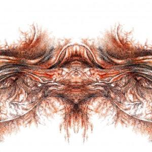 Mecon 1, Digital/Analog Composite Image, 2007